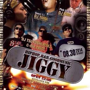 【DJ】2014.8.30 SAT JIGGY @ CLUB SONIC 山梨 甲府市