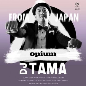 DJTAMA ASIA TOUR 2018 SOUTH KOREA